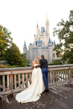 Vow renewal at Disney World!   For our 10 or 15 year anniversary! Thats where I want to do it!