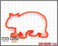 - Wombat Cookie Cutter - X & Garden Animal Cookie Cutters, Australian Animals, Wombat, Cookies, Ebay, Garden, Biscuits, Garten, Cookie Recipes