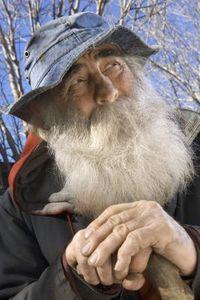 How to Make a Fake Beard for a Costume | Bearded Lady ... Old Man Fake Beard