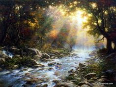 Larry Dyke River of Light                                                                                                                                                     More
