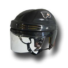 Official Licensed Mini Player Helmets - Philadelphia Flyers