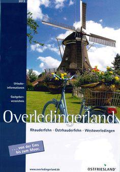 Lower Saxony, Ostfriesland, Gastgeberverzeichnis, kostenlose Bestellung unter www.overledingerland.de