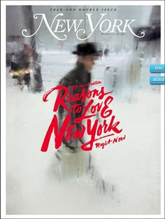 coverjunkie:   New York Mag (US) This weeks coverNew York MagazineDesign Director Thomas Alberty  I just want this as a print. Best one so far.