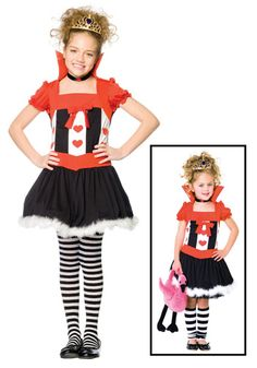 Kids Queen Halloween Costumes