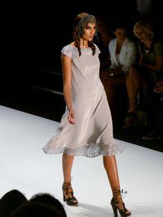 Model at Guido Maria Kretschmer Spring/Summer 2013 - Mercedes Benz Fashion Week - http://olschis-world.de/  #GuidoMariaKretschmer #Womenswear #Fashion