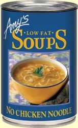Amy's Organic Soup - No Chicken Noodle