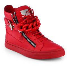 Fancy - Tonal Chain Sneakers by Giuseppe Zanotti