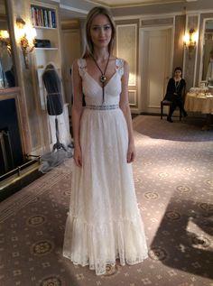 Claire Pettibone Romantique 'Savannah', Sunset Collection at Bridal Market