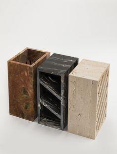 Guéridon Brick édité par Collection Particulière / Design Grégoire de Lafforest