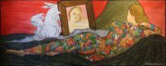 152x62cm.acrylic+pen on canvas.didaccheca.nov13--- 750€