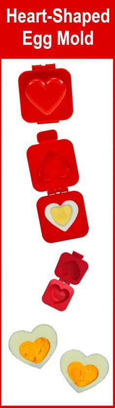 New Generation Eggs loves this HEART-SHAPPED EGG MOULD BY MUSTARD! #Mustard_Heart-Shaped_Egg_Mold…