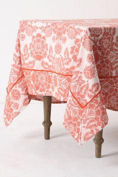 I Love This Color Magnolia Tablecloth Too!