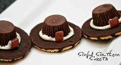Sinful Southern Sweets: Pilgrim Hats-Thanksgiving Food Craft for Kids