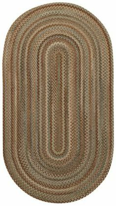 """3' x 5' Rectangular Made-to-Order Oscar Isberian Rugs Area Rug Green Color Hand Braided USA """"New Bern Collection"""" Vertical Stripe Pattern by Oscar Isberian Rugs. $209.00. Hand Braided Wool (50%), Nylon (45%) and Other Fibers (5%), Made in USA. Rug is Made to Order, ships within 1 to 3 weeks. Please note: Rug is Rectangular with Vertical Stripe Pattern. Dimensions: 3' x 5' Rectangular, Vertical Stripe. New Bern, a new microbraid construction in a durable wool blend. Col..."""