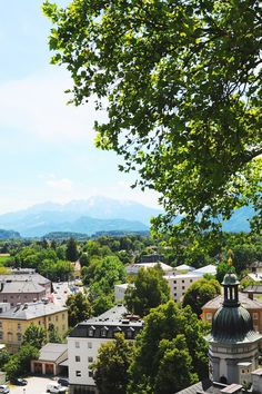 Salzburg, Old City, Scenery, Alice, Old Things, Mansions, House Styles, Travel, Beautiful