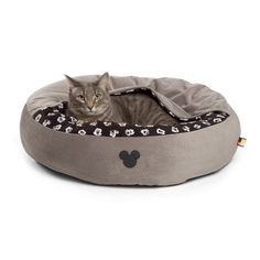 Disney Cozy Cuddler Pet Bed - Grey - 22''x22''