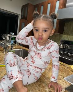 Cute Mixed Babies, Cute Black Babies, Beautiful Black Babies, Beautiful Children, Cute Babies, Cute Little Girls Outfits, Toddler Girl Outfits, Kids Outfits, Baby Momma