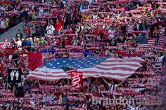 The American Outlaws are the supporters group of the United States men's and women's teams, and have a chapter in most major cities across the nation