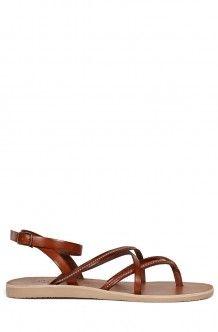 74d5a12961071d Oda Sandal - Dark Brown Silver Handbag Accessories