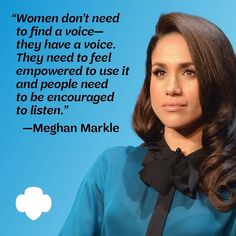 """Girl Scouts on Instagram: """"It's Women's History Month and we're loving this quote from Girl Scout alum, #MeghanMarkle ! 💚 Lift your voice to change the world and…"""" Harry And Megan Markle, Meghan Markle, Prince Harry And Megan, Your Voice, Change The World, Girl Scouts, History, Quotes, Kids"""