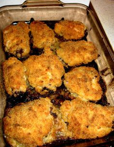 USED 4 chicken thighs or leg & thigh 1 cup Ranch dressing 2 cups panko ...
