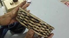 cestaria com jornal MODULO 10