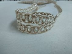 Fringe Braid, Upholstery Trim, Curtain Accessories, Thing 1, Braids, Silver Rings, Ivory, Etsy Shop, Slim