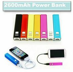 #2600mah #PowerBank #Mobile #Charger #tech #giveaway #Event #PartyFavor