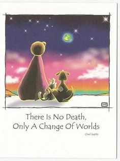 Only a change of worlds ♥  whether for the better or worse, we each must decide individually