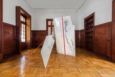 Jose+Dávila's+Sculptural+Exhibition+at+Galería+OMR++in+Mexico+City+|+Yellowtrace