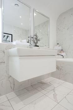 Porcelain marble look tile family bathroom bathroom wall modern bathroom white bathroom bathroom ideas marble porcelain . Marble Bathroom Floor, Marble Look Tile, White Marble Bathrooms, Bathroom Flooring, Bathroom Furniture, Bathroom Wall, Modern Bathroom, Family Bathroom, Budget Bathroom