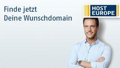 Finde Deine Wunschdomain über Host Europe: https://www.hosteurope.de/Domain-Namen/Preis/ #Domains by #HostEurope (#Host #Europe)