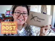 Piquant Post Subscription Box Review + Unboxing | November 2017 | Not a Tree Subscription Box Reviews