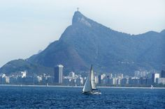 Sailing past the redeemer, Rio