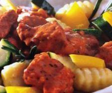 Rezept Schnitzeltopf mit Gnocchi von piff-poff - Rezept der Kategorie Hauptgerichte mit Fleisch