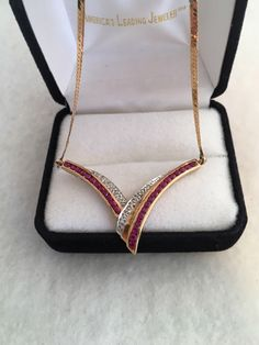 A personal favorite from my Etsy shop https://www.etsy.com/listing/515596679/14k-gold-125cts-rubies-25cts-diamonds