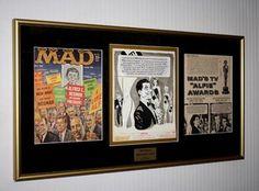 mad magazine miss america mort drucker comic strip art coa uacc frame 1960