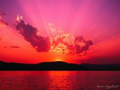 Lake Tenkiller Sunset