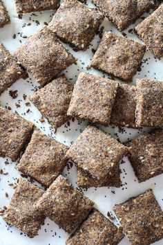 These healthy spelt crackers are made with whole spelt flour and flax, sesame, and poppy seeds. They are perfect as an appetizer or snack.