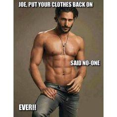 Joe....
