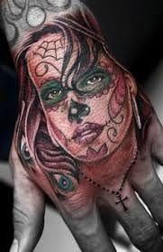Bildresultat för sugarskull girl tattoo