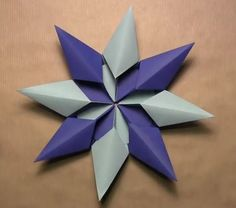 Origami DIY - Diamond Star