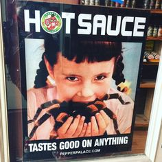 #frenchquarter #neworleans #louisiana #hotsauce #spider #advertisement by kittenonthekeys