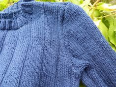 P1230543 Junior, Bleu Marine, Pulls, Pullover, Crochet, Sweaters, Fashion, Knits, Fishing Line