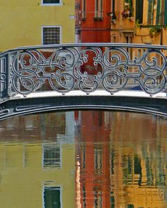 Still water reflections along one of the many canals of Venice. Beautiful Streets, Most Beautiful Cities, Bologna, Venice Italy, Verona Italy, Puglia Italy, Italy Art, Water Reflections, Italy Fashion