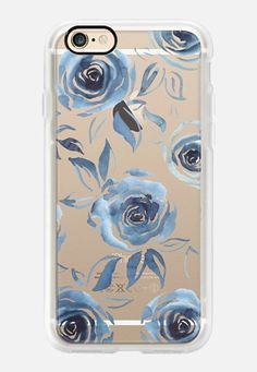 Casetify iPhone 7 Case and Other iPhone Covers - Blue roses by Dorina Nemeskéri | #Casetify