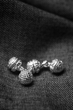 Cufflinks by Patinova for The Armoury Frm David Bundesen's bd: My Style