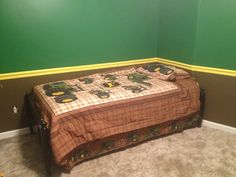 John Deere bedroom!!