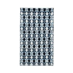 Ivory Blue/Black Abstract Woven Accent Rug - ($56) ❤ liked on Polyvore featuring home, rugs, blue rug, black rug, flat-weave rug, safavieh rugs and beige area rugs