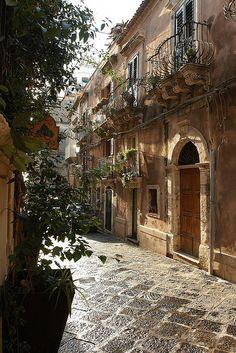 Oritigia at Dusk ~ Siracusa, Sicily, Italy